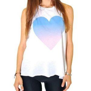 WILDFOX Heart Twisted SOFT Jersey Tank Top